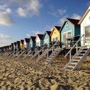 Slapen-op-het-strand / strandslaaphuisje Zeeland