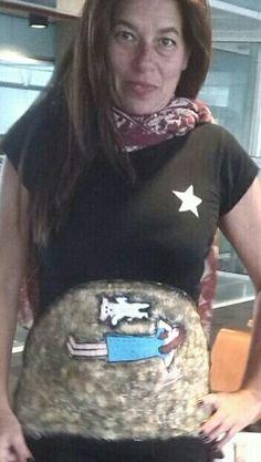 Silvia y su camiseta