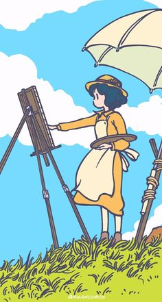 Ghibli Redraw, the Wind  Rises, Miaomiao W.