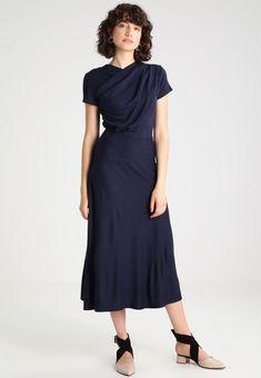 87a9ccf34e43 PENTONVILLE TWIST FRONT DRESS - Sukienka z dżerseju - blue   Zalando.pl 🛒