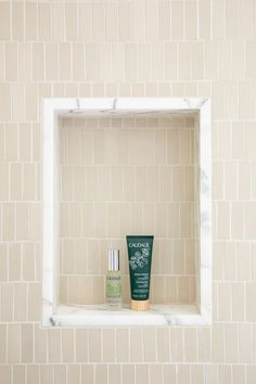 cool tile treatment for niche A San Francisco Bungalow Gets a Modern Craftsman-Style Transformation Bungalow, Studio Mcgee, Modern Craftsman, Craftsman Style, Mold In Bathroom, Bathroom Ideas, Master Bathroom, Family Bathroom, Basement Bathroom