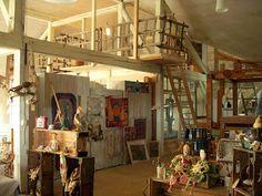 THE FABRIC OF MEDITATION - SARA LECHNER'S  studio