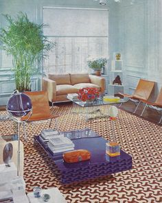 "drydockshop: "" House & Garden's Complete Guide to INTERIOR DECORATION ©1970 """