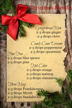 5 Christmas Diffuser Blends to Bring Holiday Cheer - Pink Fortitude, LLC - - Pine trees. what are your favorite Christmas scents? I've compiled five of my favorite Christmas diffuser blends to make your holiday aromatic and bright! Essential Oils Cleaning, Essential Oil Scents, Essential Oil Diffuser Blends, Essential Oil Uses, Doterra Essential Oils, Yl Oils, Doterra Blends, Doterra Diffuser, Young Living Oils