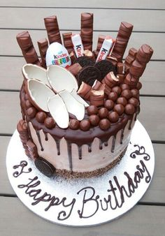 Kinder Bueno cake no-bake Cooking Recipes Kinder Bueno cake no-bake Cooking Recipes The post Kinder Cake Cookies, Cupcake Cakes, Cake Recipes, Dessert Recipes, Chocolate Drip Cake, Chocolate Chips, Drip Cakes, Occasion Cakes, Pretty Cakes