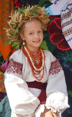 Ukrainian culture #Українка у вишиванці