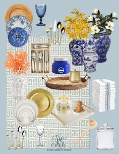Amazon Fall Home Finds - Randi Garrett Design #amazonfinds #fallfinds #autumnfinds #autumndecor #falldecor #amazonfalldecor #amazonautumndecor #falldecorations #blueandwhitefalldecor #blueandwhitedecor #blueandwhite