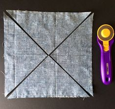 Need a quick-to-make quilt for seasonal decor or a gift? This table runner uses simple squares and a fast method for making Pinwheel blocks for beautiful decor in no time! Materials: 6–10R…