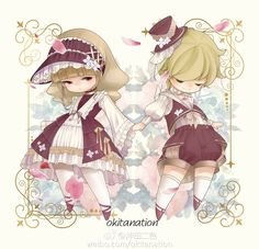 #Hobbit Style Lolita and Ouji Outfits