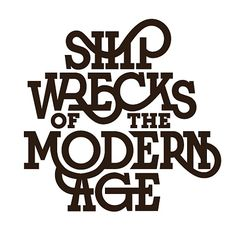 Shit Wrecks of the Modern Age #Type #Typography #Typo #Calligraphy #Write #Writing #Letter #Lettering