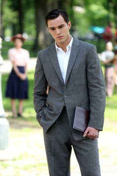 Pin for Later: Nicholas Hoult Looks Unfairly Sexy on the Set of His New Movie