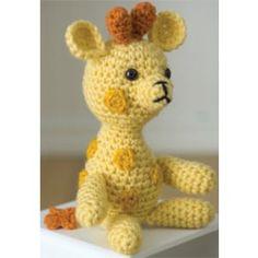 Mary Maxim - Free Little Giraffe Crochet Pattern - Free Patterns - Patterns & Books