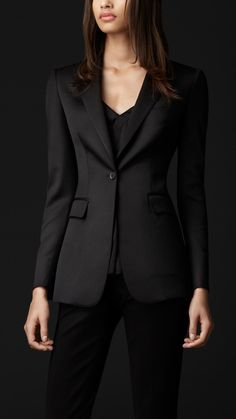 Burberry Wool Evening Jacket. Stunning.