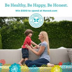 Living the Honest Life with #thehonestcompany PLUS a $500 Honest Company #giveaway!! #ad