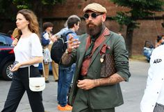Pitti Uomo 90 - Phil Oh Street Style Pictures