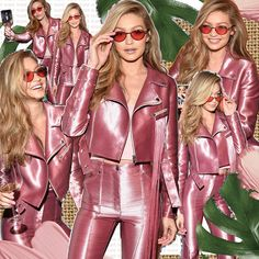 REAL LIFE BARBIE DOLL 💁🏼‍♀️💄👑 @GigiHadid can do no wrong! 💥 Digital edit created by our design team 💥⠀ ⠀ #gigihadid #barbiedoll #pinksuit #dreamgirl #girlcrush #barbie #rockstar #supermodel #flares #metallic #bombshell #vsangel #victoriassecret #retro #pink #leather #70s #kreist #streetstyle #newyorkcity #nyc #shineshineshine #collage #creative #design #digitaledit #designer #fashion #paparazzi #digitalcollage #digitalcollage #collageart #digitalart #stylecollages