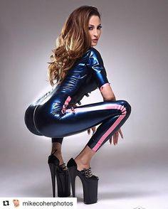 "1,814 Likes, 23 Comments - Herrin Lisa (@dominatrixlisa) on Instagram: ""#Repost @mikecohenphotos #corset #heels #love #photooftheday #latex #catsuit #mikecohenphotos…"""