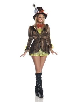 Plus Size Mad Hatter Costume - I love the jacket!