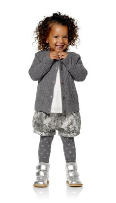Amiens Little SHORTS, Grey - POMPdeLUX