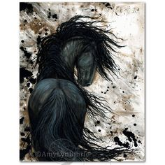 Livestream animal crossing new leaf fan art isabelle the the dreamwalker majestic black horse friesian abstract fine art prints 20 liked on polyvore featuring home home decor wall art horse home decor fandeluxe Gallery