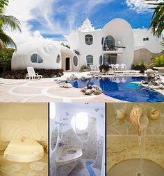 AirBnB accommodation in Isla Mujeres, Mexico - The Seashell House