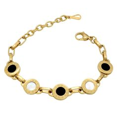 ZT  digital Rome licensing round shell bracelet bracelet stainless shell bracelet collocation black and white men and women 20