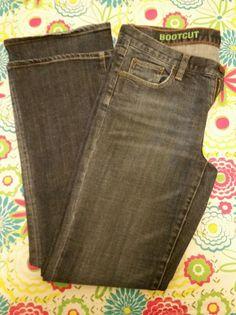 J. Crew Women's Jeans Blue Denim Stretch Boot Cut Classic Fit Medium Wash -Sz 30 #JCrew #Relaxed