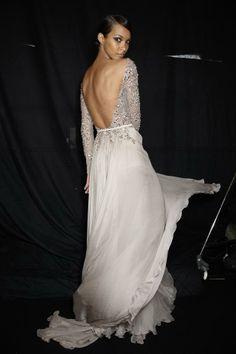 Elie Saab Haute Couture Autumn 2013 - Backstage.
