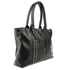 Big Studded Leather Tote Wild Orchid, Studded Leather, Gym Bag, Handbags, Boutique, Big, Purses, Duffle Bags, Hand Bags