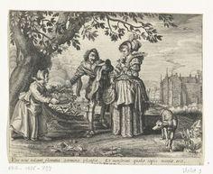 """""""Ver"""" by Daniël van den Bremden, Adriaen Pietersz. van de Venne, Herri le Roy, 1625-1630"""