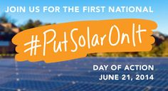The World wants YOU to #PutSolarOnIt
