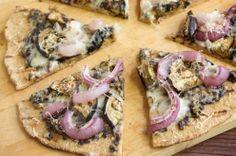 Roasted Radish And Ricotta Pizza On Cracker Crust Recipe — Dishmaps