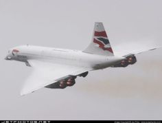 Concorde Departing New York