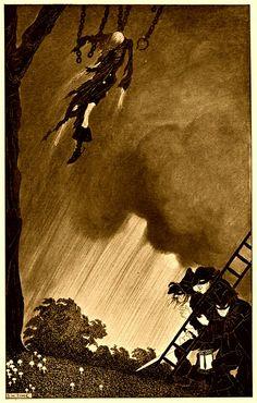 Sidney Sime - Tom O' The Roads (1908) by Aeron Alfrey, via Flickr