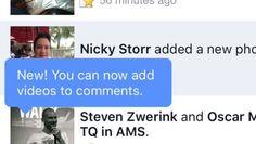 Facebook Android: Videos 360° y para comentarios en posts