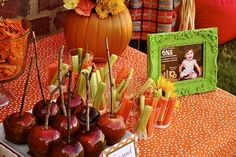 pumpkin patch birthday ideas | patch party | Pumpkin Patch 1st Birthday Party - Kara's Party Ideas ...