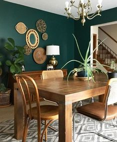 Best Cozy Rustic Dining Room Decor Ideas You May Love - Diaror Diary - Page 15 ♥ ? - Best Cozy Rustic Dining Room Decor Ideas You May Love – Diaror Diary – Page 15 ♥ ? Dining Room Console, Green Dining Room, Dining Room Paint Colors, Dining Room Wall Decor, Dining Room Design, Dining Room Furniture, Dining Rooms, Dark Furniture, Bedroom Colors