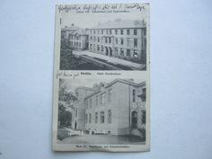 Stettin , Krankenhaus , Schöne Karte 1912 mit Poststempel Pommerensdorf   eBay