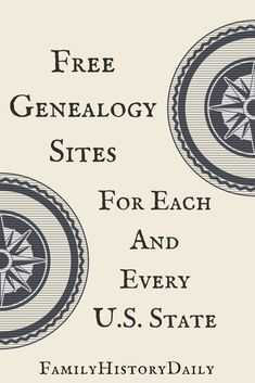 Looking for free genealogy sites for any U.S. state? Find 102 free genealogy research websites for every state in the union right here. Discover your ancestry and expand your family tree with this massive list of free family history resources. #freegenealogy