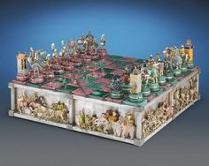 The Battle of Issus Chess Set (3)