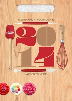 New Year's 2014 Printable for cooks, chefs and bakers