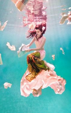 Elegant Water Ballet