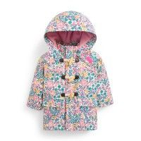 Girls Meadow Cosy Waterproof Fishermans Coat | JoJo Maman Bebe