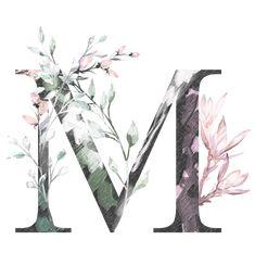 wallpaper t letter Monogram Wallpaper, Alphabet Wallpaper, Wall Art Wallpaper, Watercolor Lettering, Watercolor Art, Flower Backgrounds, Wallpaper Backgrounds, Floral Letters, Wallpaper Iphone Disney
