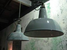 Emaille grijze Philips lampen