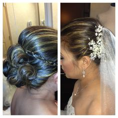 Wedding updo by www.facebook.com/uvglamous