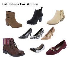 """Fall Shoes For Women"" by thehousewife on Polyvore"