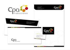 Identidad Corporativa CPA Producciones Audiovisuales