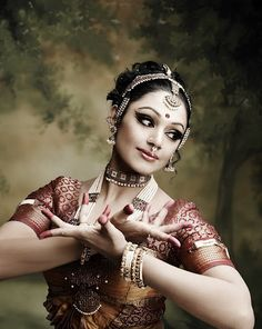 South Indian Dancer-