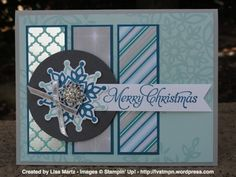 CCMC265 Festive Flurry by Lisa Martz - Cards and Paper Crafts at Splitcoaststampers